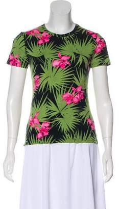 Celine Printed Short Sleeve T-Shirt