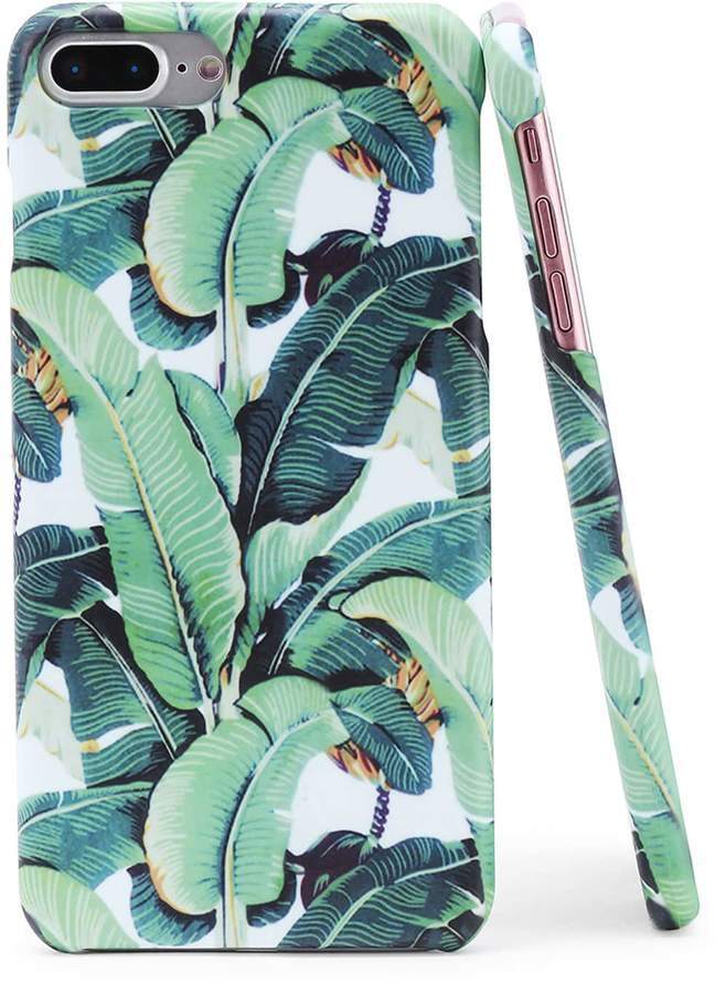 Romwe Leaf Print iPhone Case