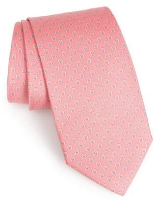 Salvatore Ferragamo Feudo Print Silk Tie
