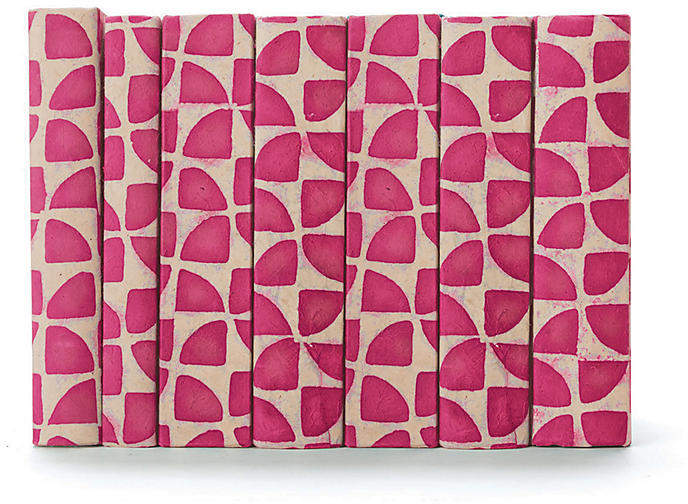 Linear Foot of Pinwheel Books - Pink
