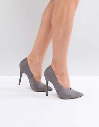 London Rebel Pointed High Heels
