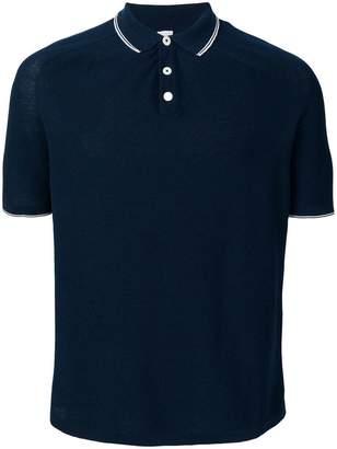 Eleventy contrast trim polo shirt