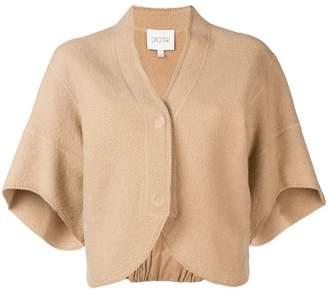 Dagmar short-sleeve cropped cardigan