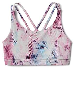 Athleta Girl Printed Upbeat Bra