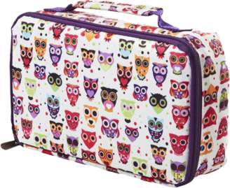 Fit & Fresh Bento Box Lunch Set with Insulated Carry Bag (Hoot) 841KFF221