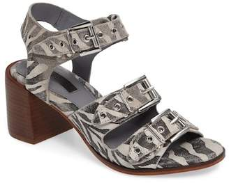 Topshop Veronica Studded Buckle Sandal (Women)