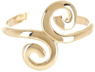 KARAT RUSH 14K Yellow Gold Swirl Adjustable Toe Ring