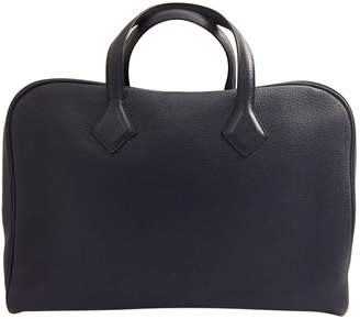 Hermes Victoria leather handbag
