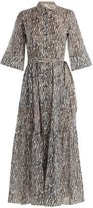 ON THE ISLAND Phophi animal-print maxi-dress