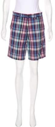 Ben Sherman Plaid Bermuda Shorts