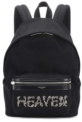 Saint Laurent City Mini backpack