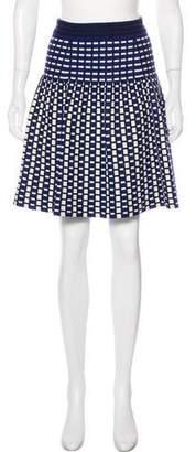 Prada A-Line Knee-Length Skirt