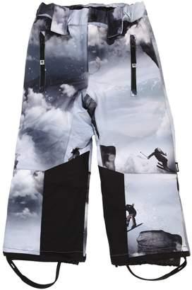 Molo Clouds Print Nylon Ski Pants
