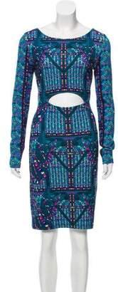 Mara Hoffman Bodycon Printed Dress