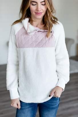 Brighton Fuzzy Pullover