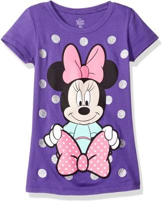 Disney Little Girls' Minnie Mouse Short Sleeve T-Shirt