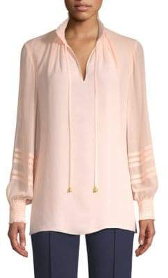 Tory Burch Haley Silk Blouse