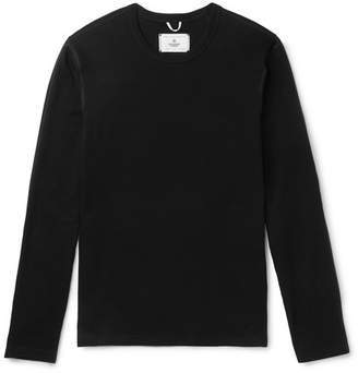 Reigning Champ Cotton-Mesh Sweatshirt