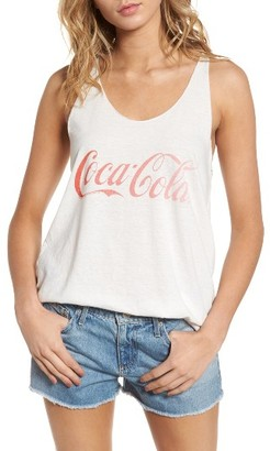Women's Junk Food Coca Cola Classic Tank $48 thestylecure.com