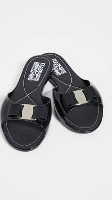 0753b2ac12afc3 Salvatore Ferragamo Open Toe Women s Sandals - ShopStyle