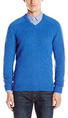 Original Penguin Men's Chunky V-Neck Sweater