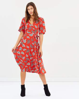 Tigerlily Allegra Wrap Dress