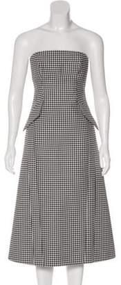 Michael Kors Strapless Virgin Wool Dress w/ Tags black Strapless Virgin Wool Dress w/ Tags