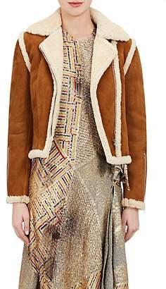 J.W.Anderson Women's Shearling Jacket - Gingerbread