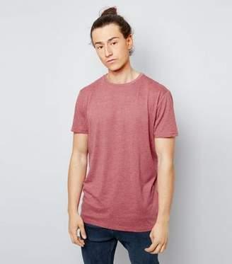 New Look Orange Cotton Crew Neck T-Shirt