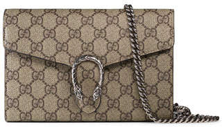 fd2f894ea39 Gucci Gg Supreme Mini Chain Bag - ShopStyle
