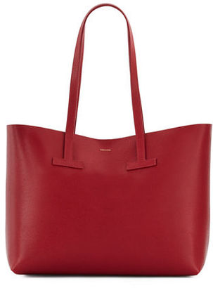 TOM FORD Medium Grained Leather Tote Bag $990 thestylecure.com