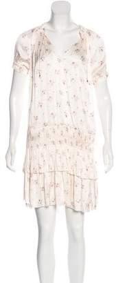 Ulla Johnson Nora Floral Printed Mini Dress