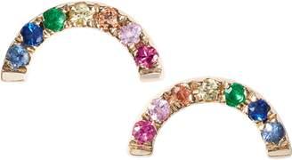 Ef Collection Rainbow Stud Earrings