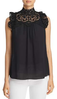 Kate Spade Lace Yoke Top