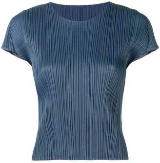 Pleats Please Issey Miyake plissé T-shirt