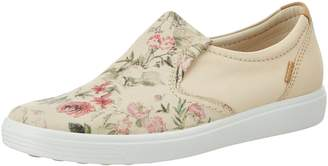 Ecco Shoes Women's Soft 7-Floral Slip on Fashion Sneakers