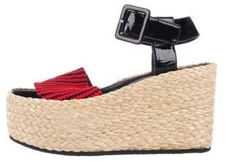 Celine Espadrilles Platform Sandals