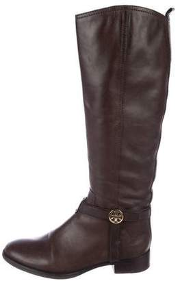 Tory Burch Leather Knee-High Boots