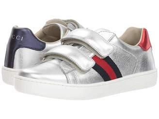 77dd3c21a2e36 Gucci Kids New Ace V.L. Sneakers (Little Kid)