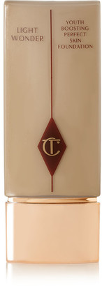 Charlotte Tilbury - Light Wonder Youth-boosting Foundation Spf15 - 6 Medium, 40ml $45 thestylecure.com