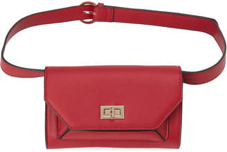 Urban Expressions Red Maggie Vegan Convertible Crossbody & Fanny Pack
