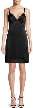 Ella Moss Women's Lace-Trimmed Shift Dress