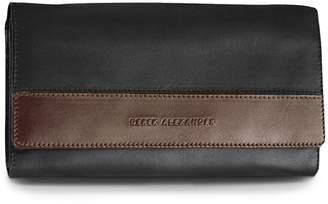 Derek Alexander Multi Compartment Clutch Ladies Wallet