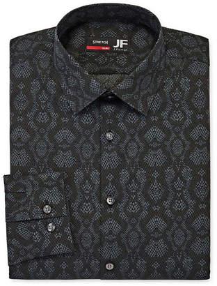 Jf J.Ferrar Mens Point Collar Long Sleeve Stretch Dress Shirt - Slim