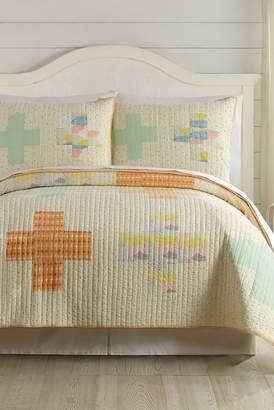 Peking Handicraft Hillside Springs Quilt 2-Piece Set - Twin