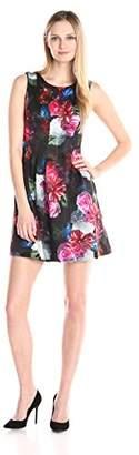 Betsy & Adam Women's Short Floral Print Scuba $27.86 thestylecure.com