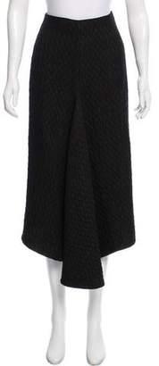 Victoria Beckham Matelassé Midi Skirt
