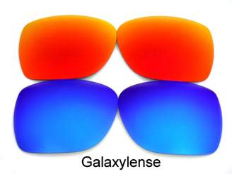 Oakley Galaxylene Galaxy Replacement Lene For Deviation Polarized Blue&Red 2 Pair.