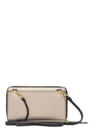 Fossil Wallet-on-a-String Convertible Crossbody Clutch