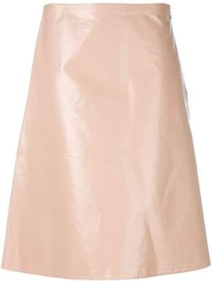 Jil Sander midi a-line skirt
